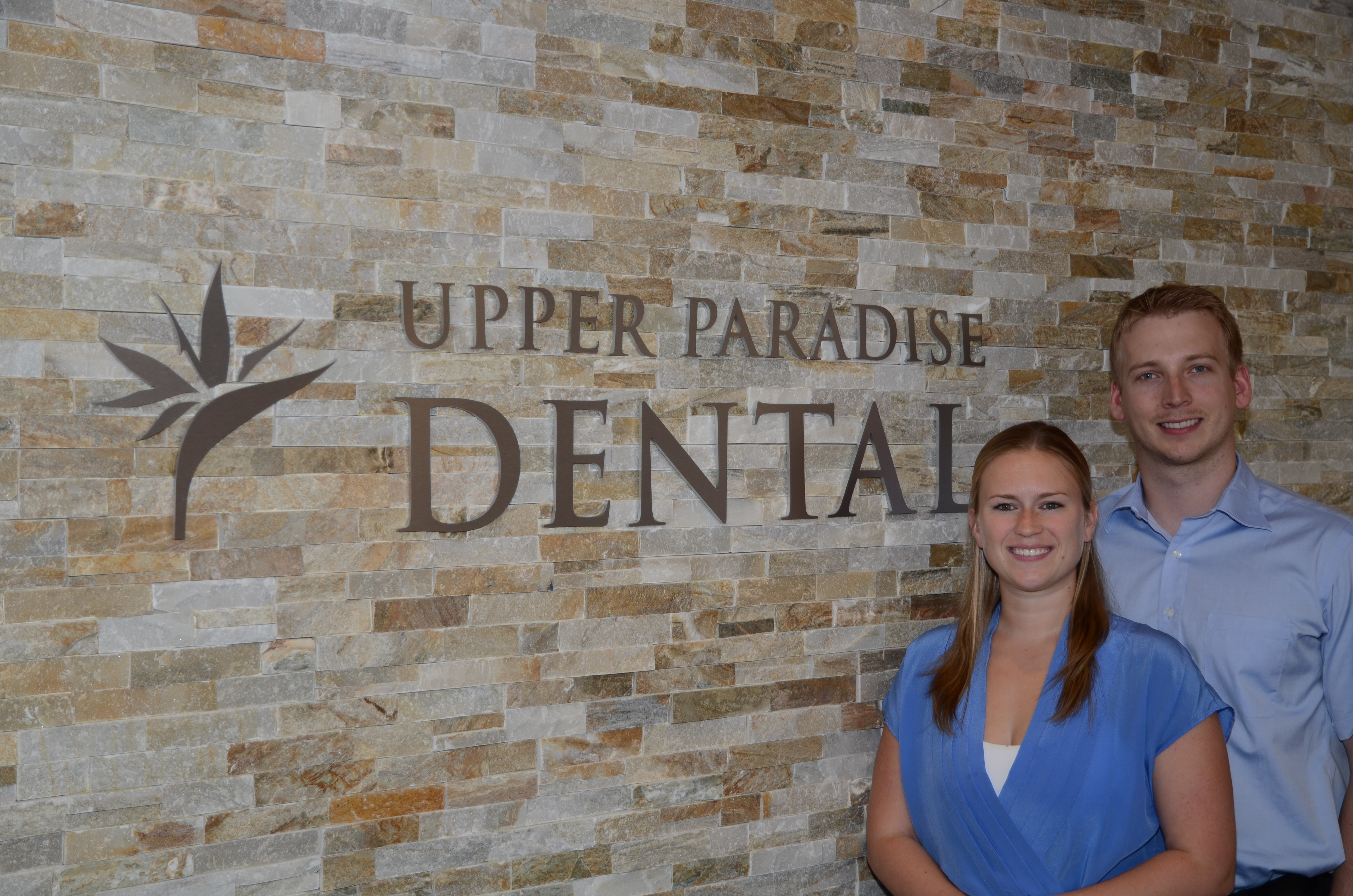 Dr Puksa and office manager Jen would like to welcome you to Upper Paradise Dental.