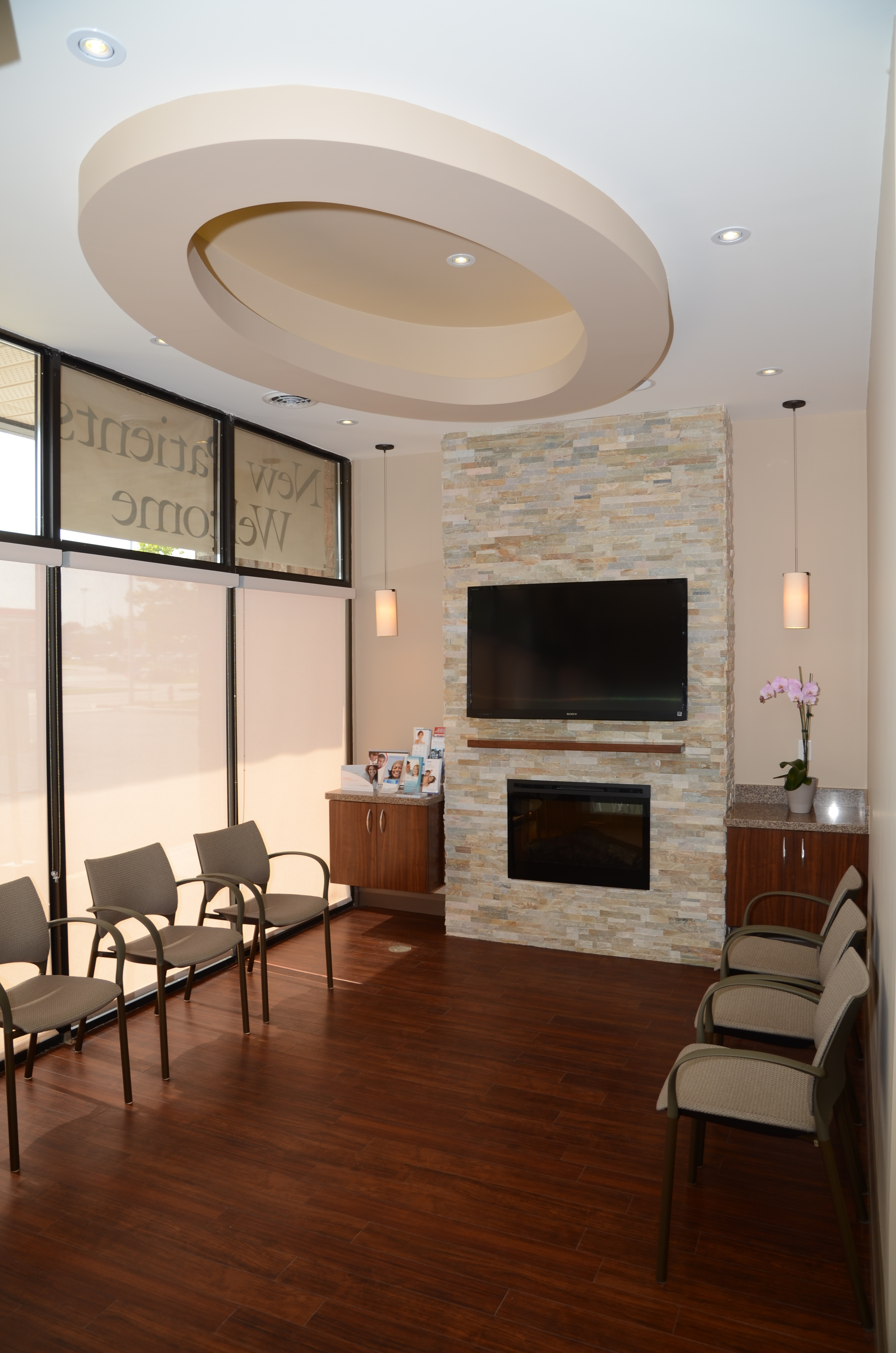 Our warm and inviting office will provide a relaxing experience for your entire family.